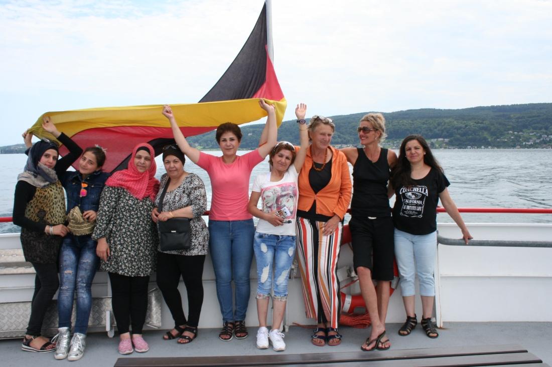 Bodensee - Syrische Frauen