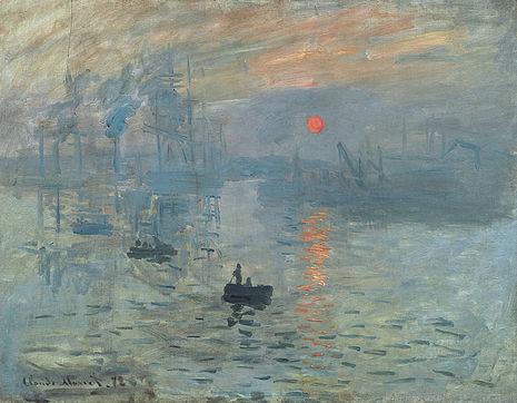 Soleil levant, Claude Monet